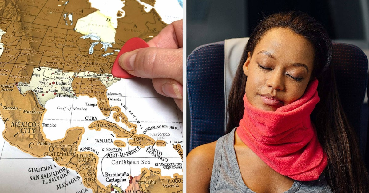 48 Gifts For People Who Love To Travel