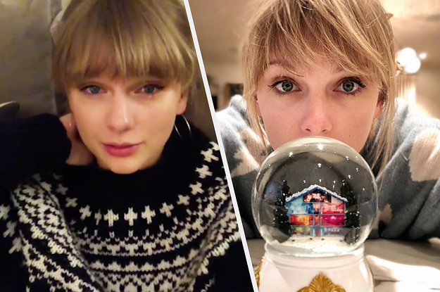 Taylor Swift Is Releasing A Christmas Song Tonight So Swiftmas Is Officially Here