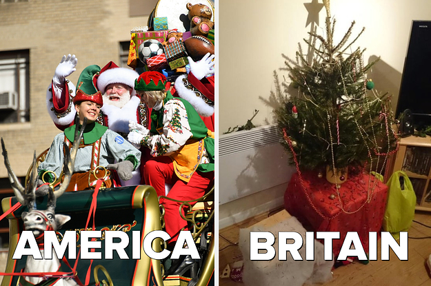 Christmas In America Vs Christmas In Britain