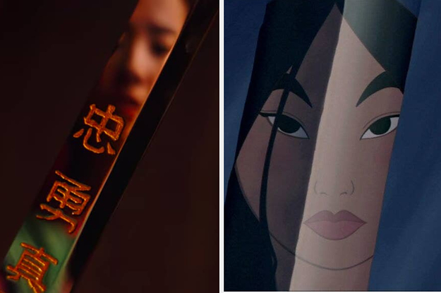 "Disney's First Trailer For The Live-Action ""Mulan"" Contains Many References To The Animated Original"