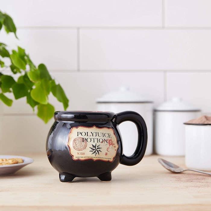 the polyjuice potion mug