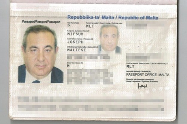 The Curious Case Of Joseph Mifsud's Lost Passport And Wallet
