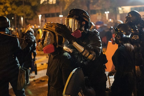 Here's The Story Of How A Hong Kong University Went To War With Police