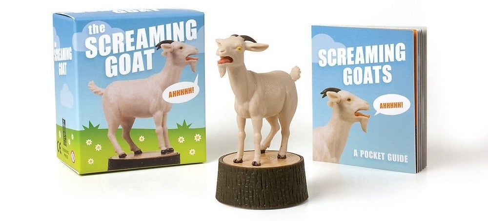 The small screaming goat figurine