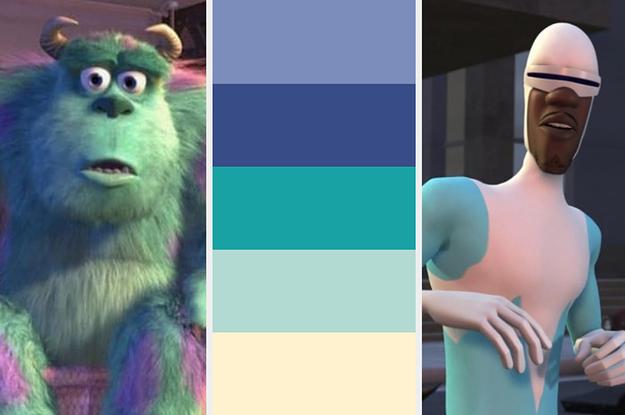 ¿Puedes sacar 9 de 9 en este quiz de colores de personajes de Pixar?