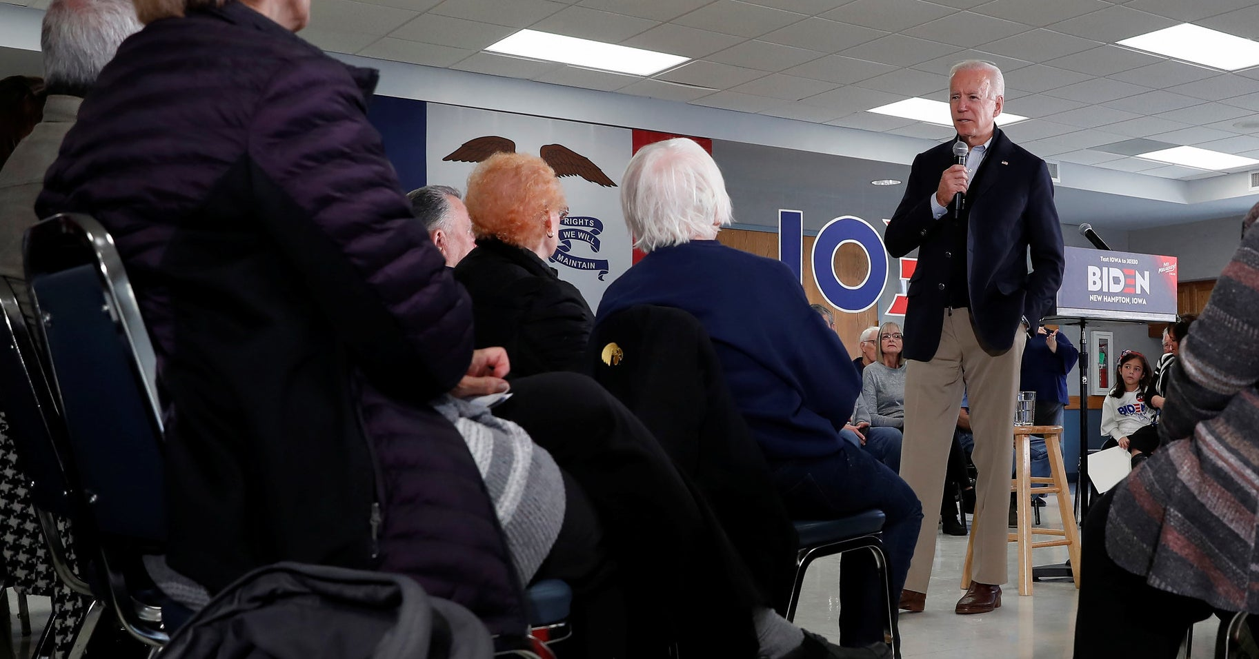 "Joe Biden Challenged A Man In Iowa To An ""IQ Test"" Or Push-Up Contest After He Asked Biden About His Son"