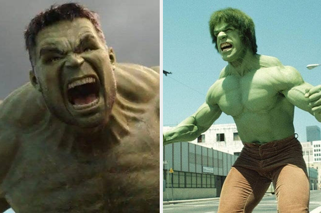 These Superheroes Today Vs. When They ...