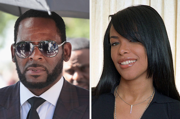 R. Kelly Married Aaliyah When She ...