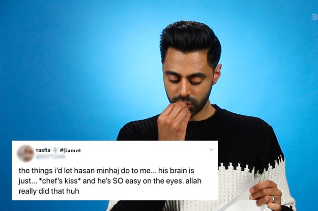 Hasan Minhaj Read Your Thirst Tweets And Would Like To Emphasize That Hes Happily Married