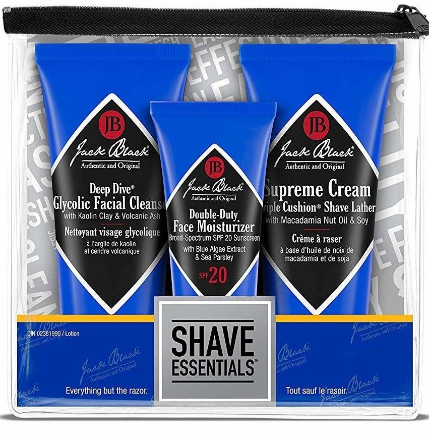 the jack black shave essentials