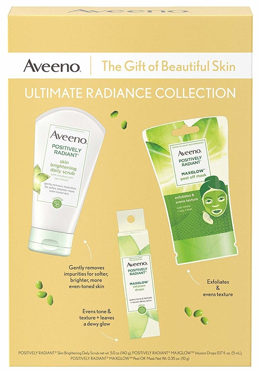 the Aveeno gift set