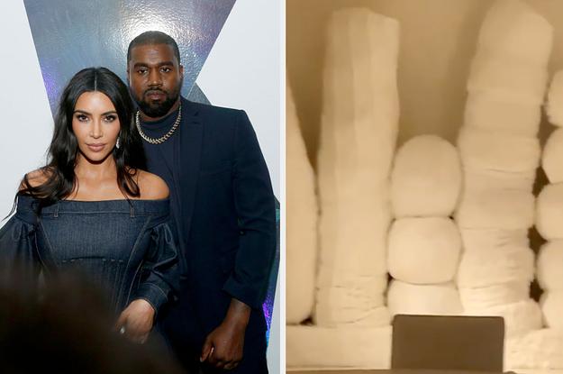 Someone Said Kim Kardashian's Christmas Ornaments Look Like Evil Tampons And It's Me, I'm Someone