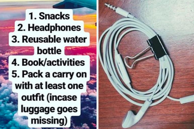 People On Instagram Shared Their Travel Hacks And Here Are 25 Of The Best Ones