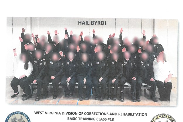 Three West Virginia Corrections Officers Have Been Fired Over A Nazi Salute Photo