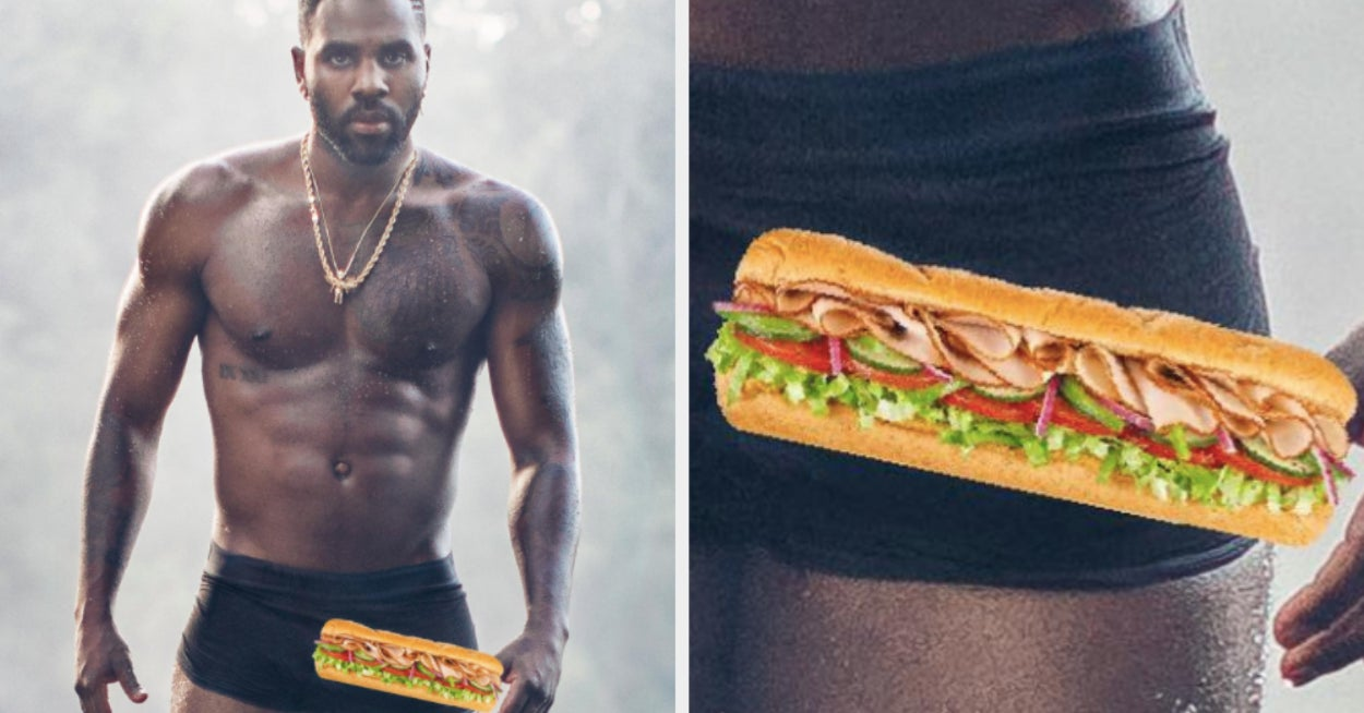 Jason Derulo Put A Footlong Sandwich Over His Dick To Send Instagram A Powerful Message About Large Penises