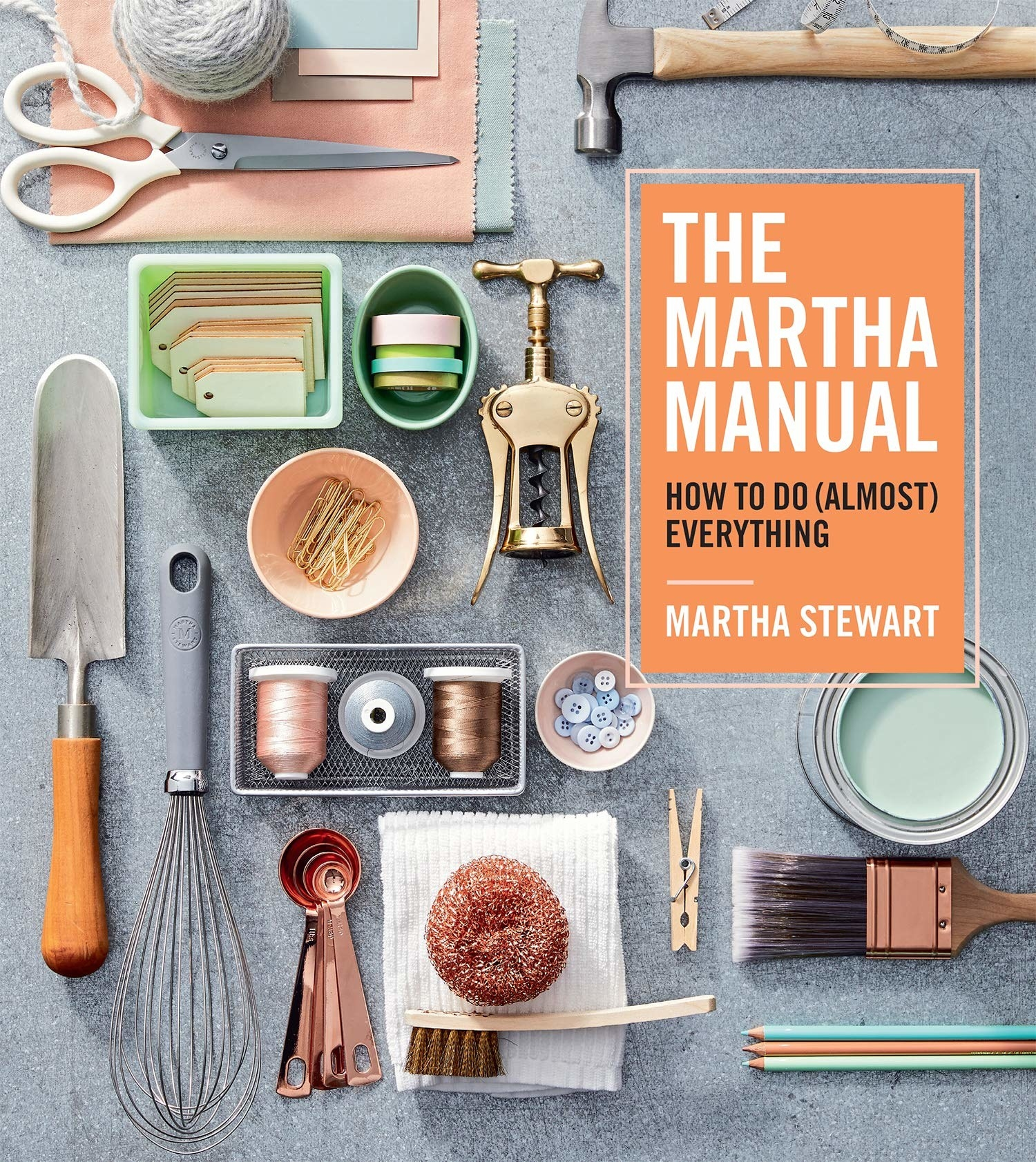 A copy of a craft book called The Martha Manual