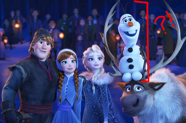 """Olaf The Snowman's Height Was Listed As 5'4"""" And Wait, What?!"""