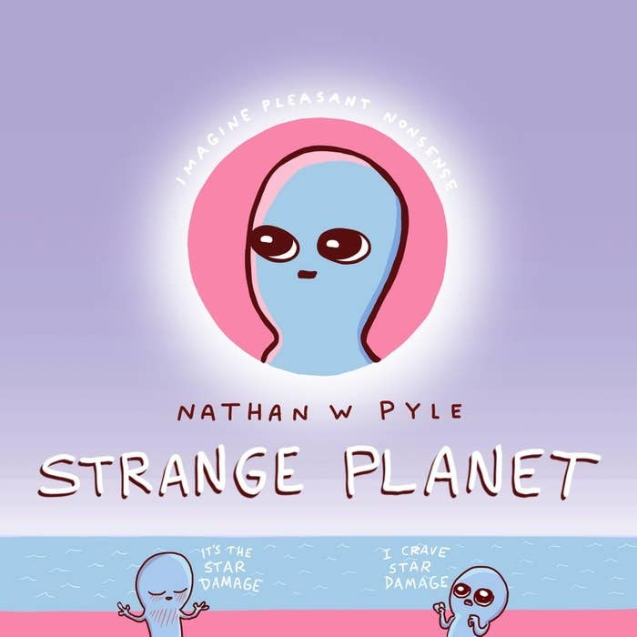 the cover of Strange Planet