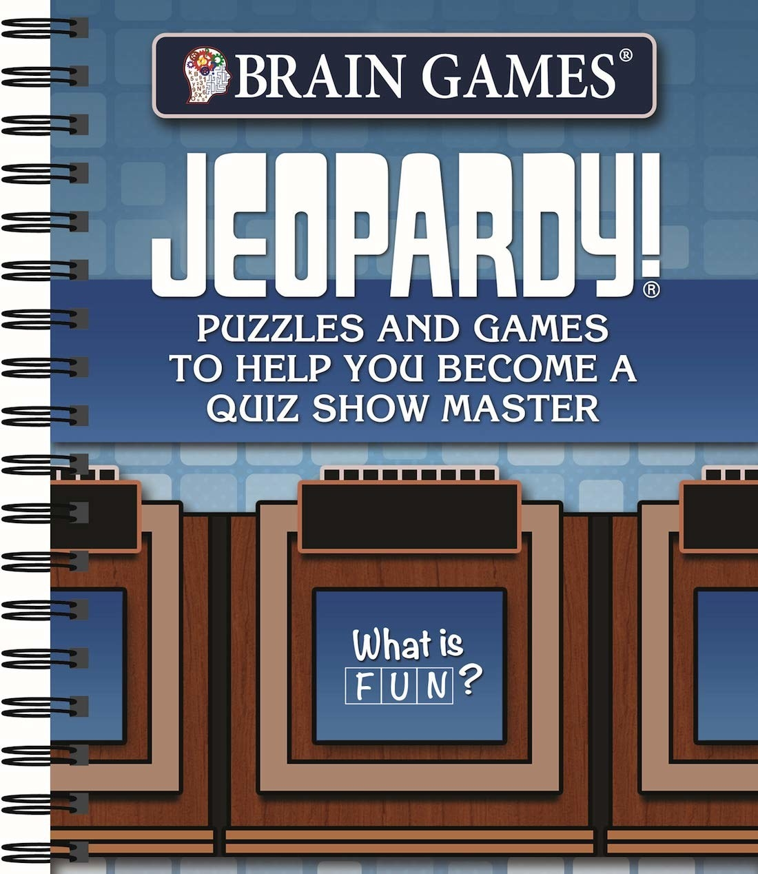 The Jeopardy trivia book.