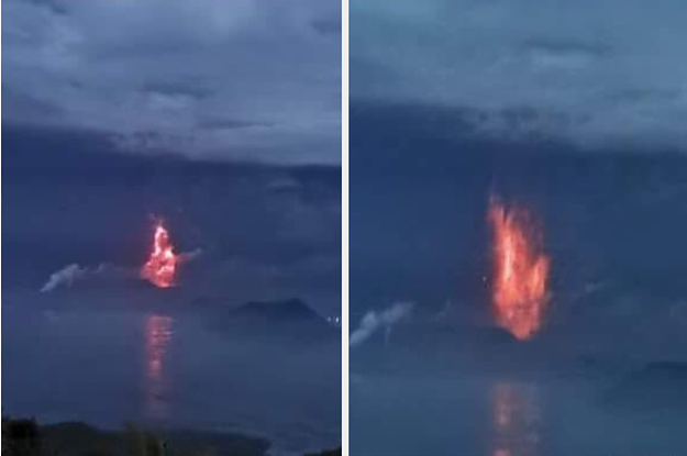 A Volcano In The Philippines Has Started ...