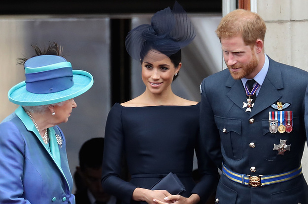 The Queen Made A Rare Personal And Emotional Statement About Prince Harry And Meghan Markle