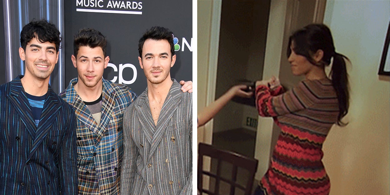 "The Jonas Brothers Recreated The Kardashian's Iconic ""Don't Be Rude"" Fight And Even Kim Finds It Funny"