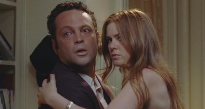 "Isla and Vince Vaughn in ""Wedding Crashers"""