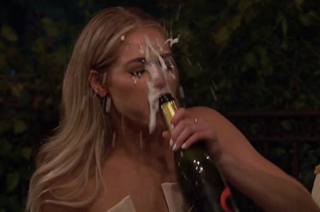 "We're Two Episodes In And ""Champagne-gate"" Is Already The Best Thing About ""The Bachelor"" This Season"