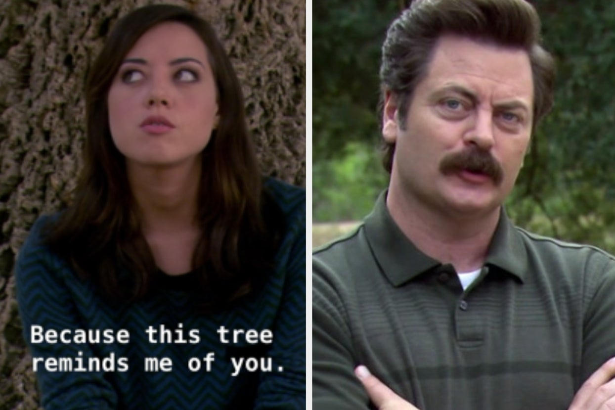 April Ludgate And Ron Swanson Had The ...