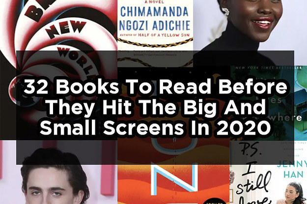32 Book Adaptations Coming Out In 2020