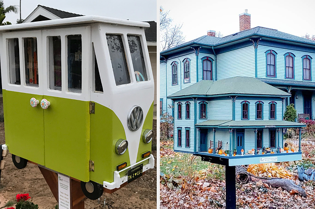 28 Little Free Libraries That Are So Adorable ...