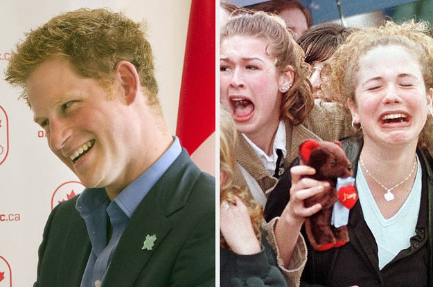 18 Pictures From Prince Harry's Life In Canada