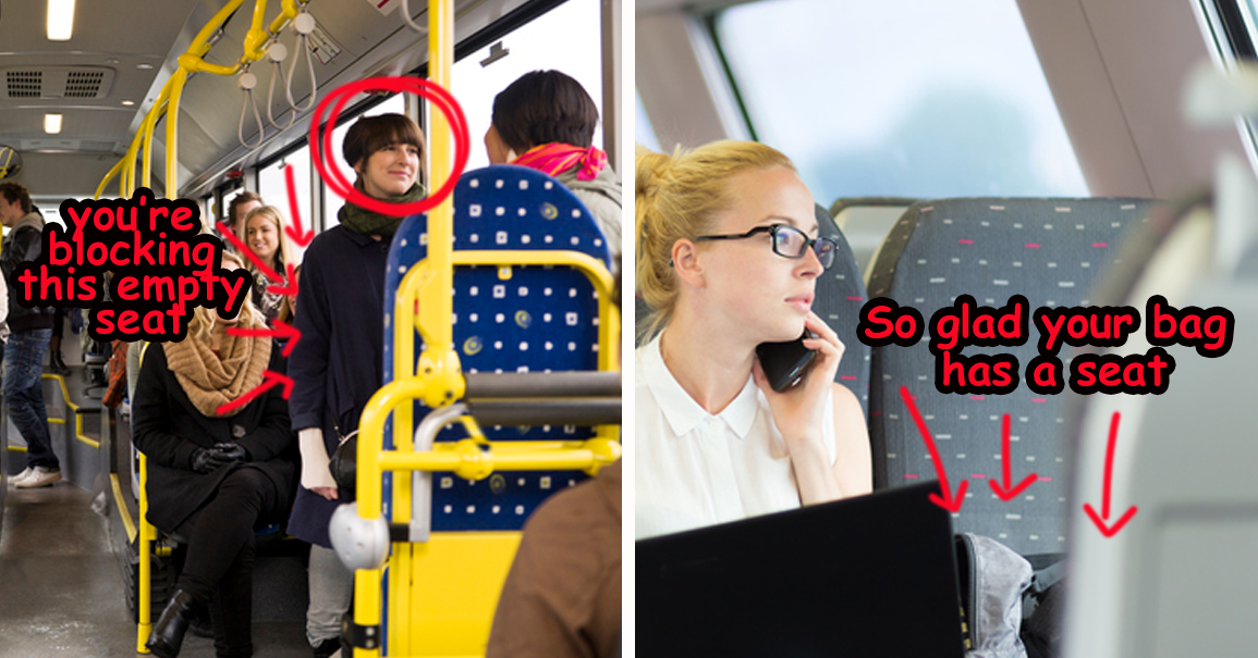 16 Times Commuters On Trains Were The Worst People In The Whole World