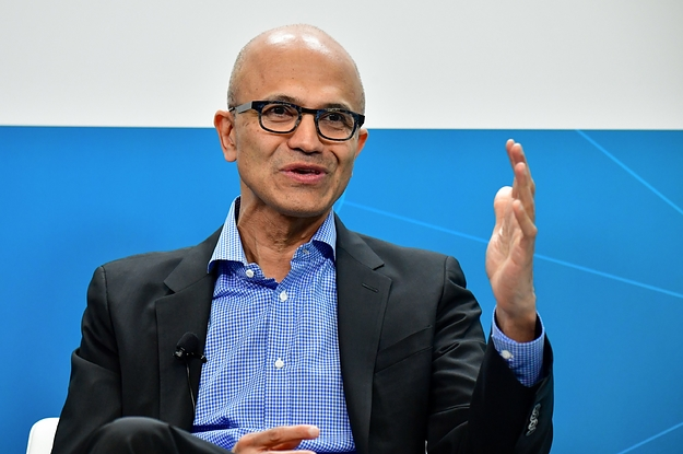 "Microsoft CEO Satya Nadella Harshly Criticized The Indian Law That Discriminates Against Muslim Immigrants: ""I Think It's Just Bad"""