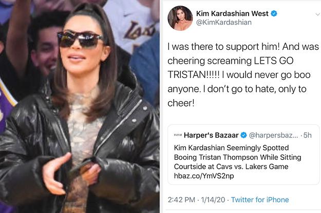 Kim Kardashian Was Accused Of Booing ...