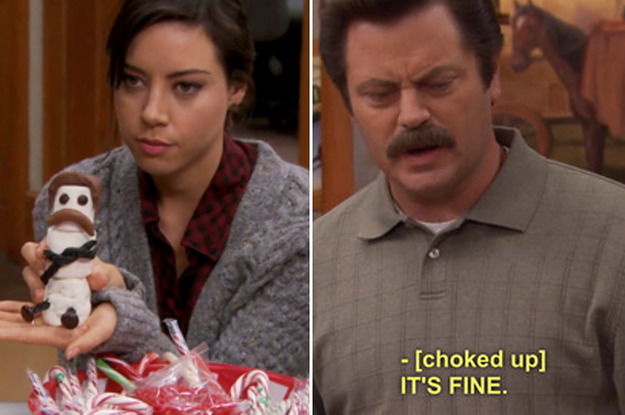April Ludgate And Ron Swanson Had The Sweetest Friendship On TV And That's It, That's The Post