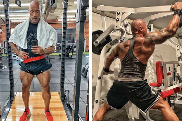"I'm Trying Dwayne ""The Rock"" Johnson's ""Jumanji"" Workout — Here's What It's Like"