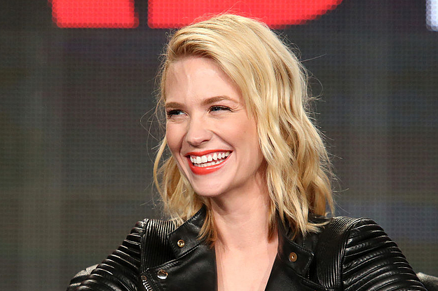 January Jones Said The F-Word Is An ...