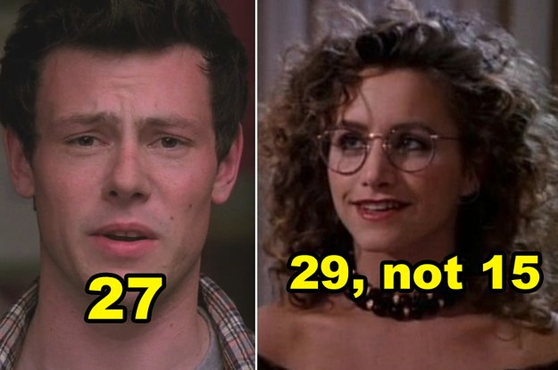 23 TV Age Gaps Between Actors That Are Genuinely Shocking