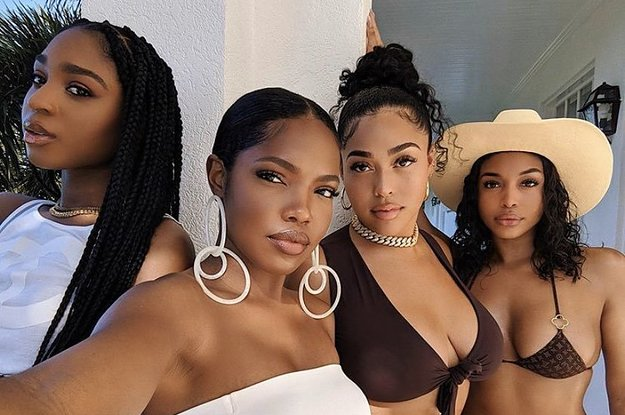 Jordyn Woods, Lori Harvey, Ryan Destiny, And Normani Just Broke The Internet With This Epic Photo
