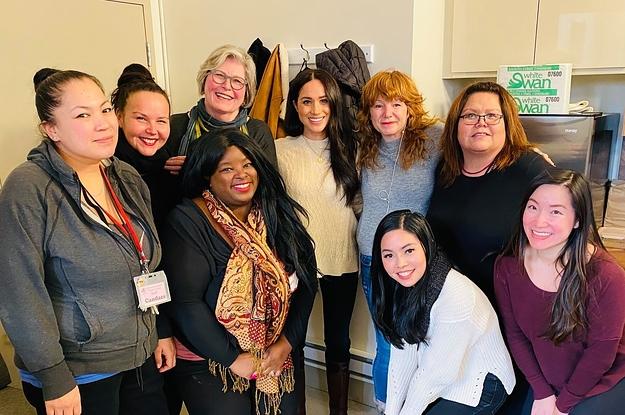 Meghan Markle Visited A Women's Center ...
