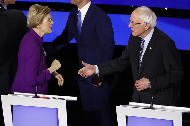 Elizabeth Warren And Bernie Sanders Seemed ...