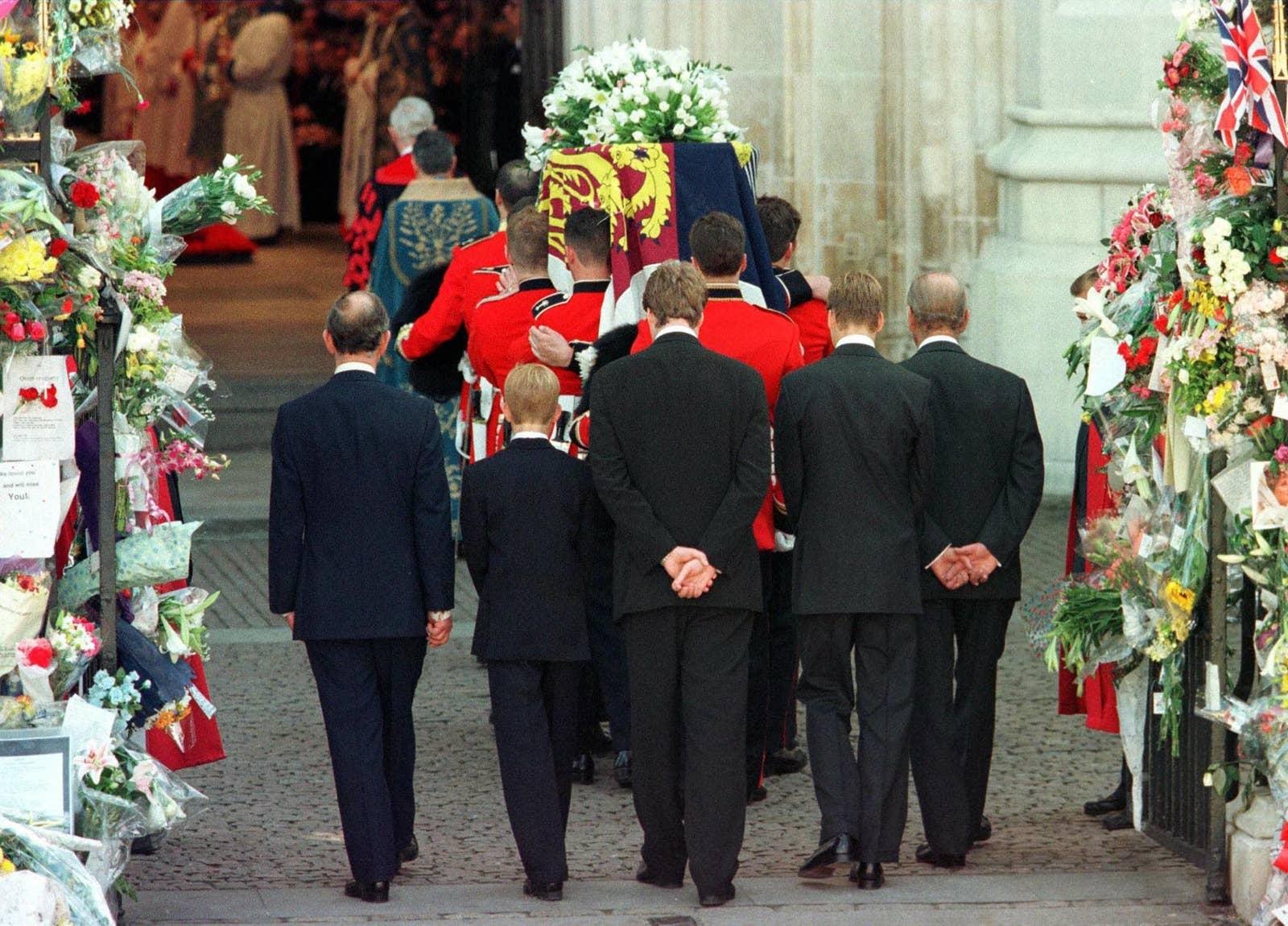 Funeral de Diana (Foto: Reprodução)