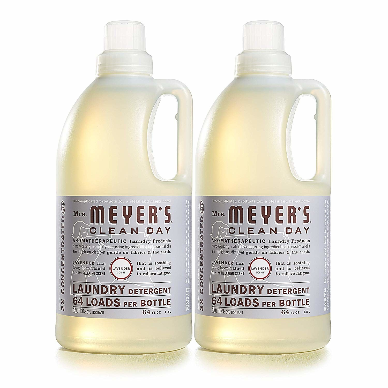 Mrs. Meyers Clean Day laundry detergents