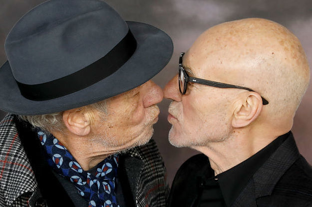 These Pictures Of Sir Patrick Stewart And ...
