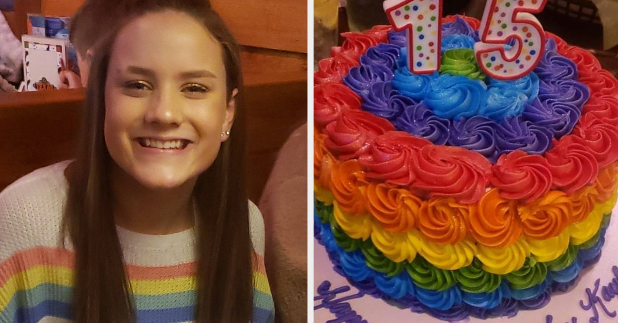 Awesome Kentucky School Expels Student Over Rainbow Cake Picture Family Funny Birthday Cards Online Chimdamsfinfo