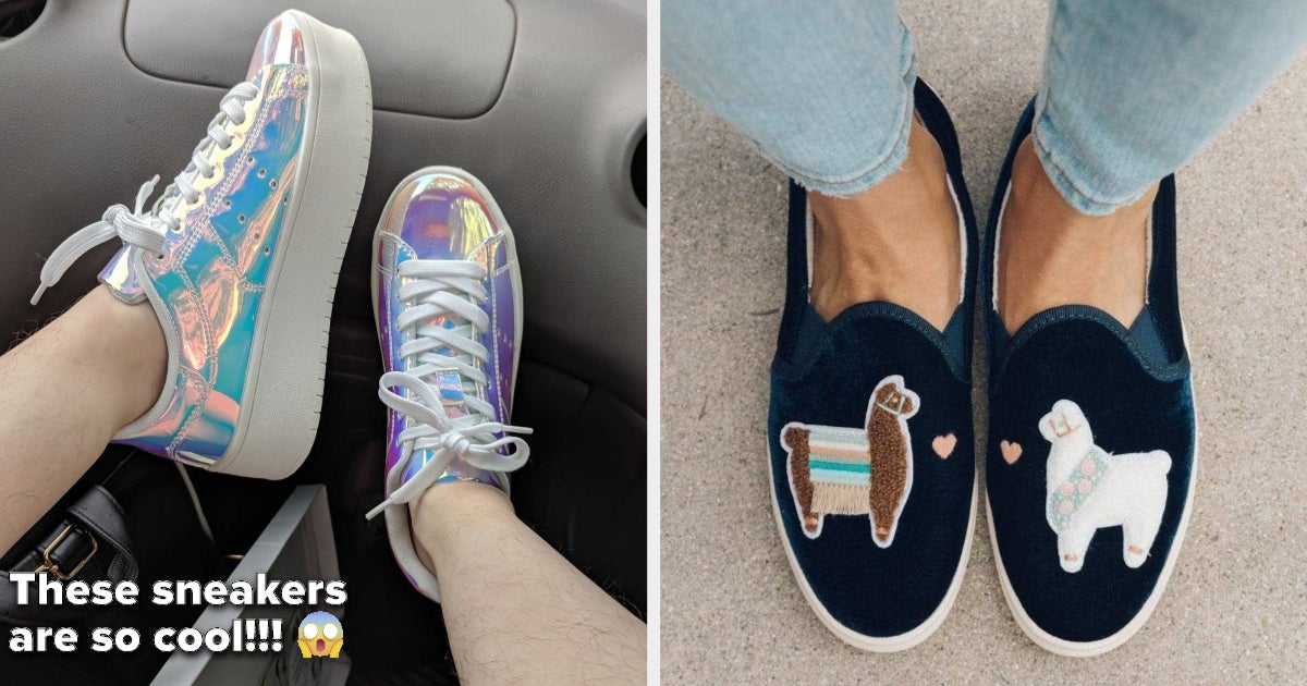 30 Sneakers That May Make You Reconsider Wearing Heels Ever Again