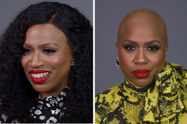 Rep. Ayanna Pressley Revealed Her Bald Head ...