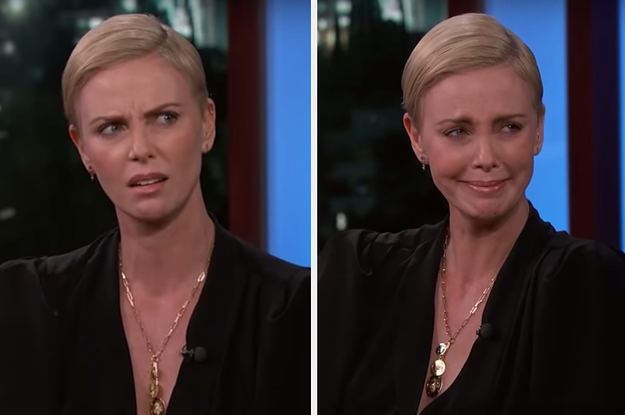 Charlize Theron's Story About A Guy Wanting Her To Make Out With His Nose Has Me In Tears