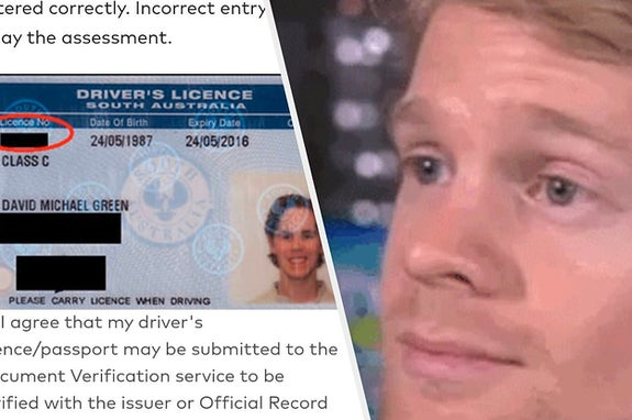 This Guy Was Shocked To Find His Old Driver's Licence Was Being Used By A Huge Telco Company